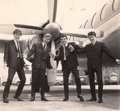 1964 flying to the US
