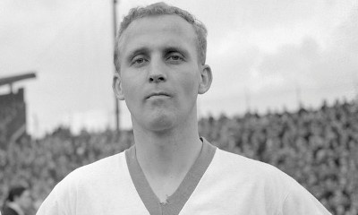 Tribute to Alex Young, one of the most revered players in Everton's history.
